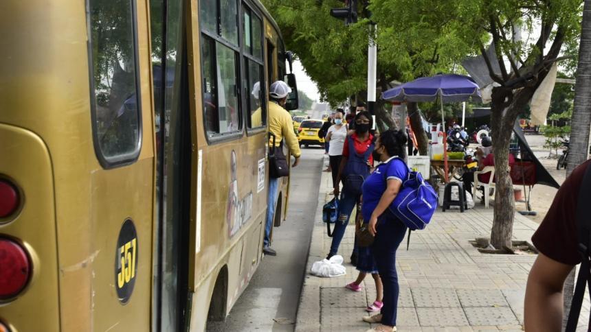 La Murillo, congestionada en segundo día sin Transmetro