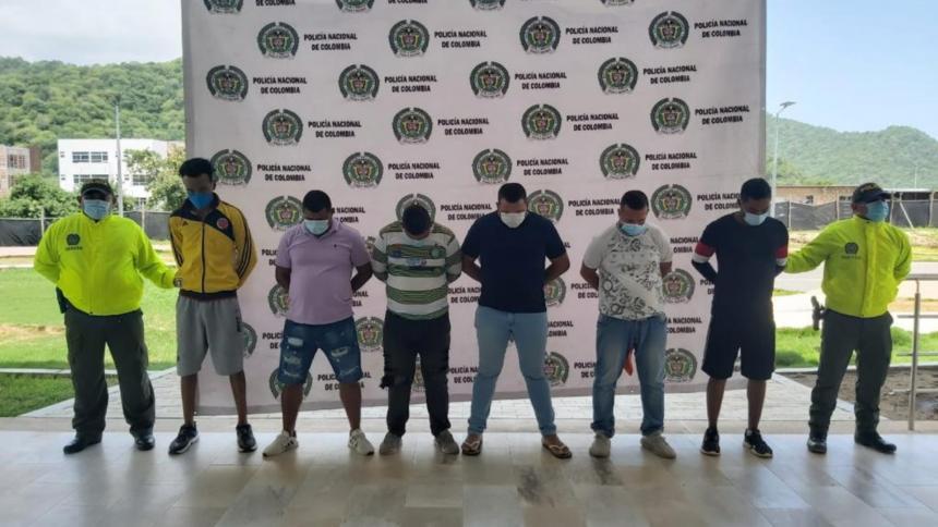 Desarticulan la banda de 'Los Lisos' en Santa Marta