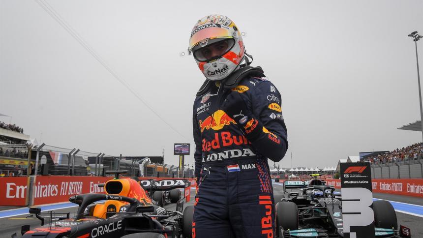 Max Verstappen partirá primero en el Gran Premio de Francia