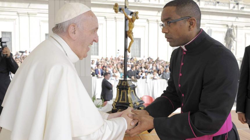 De Palo Alto, Sucre, uno de los cancilleres del Papa