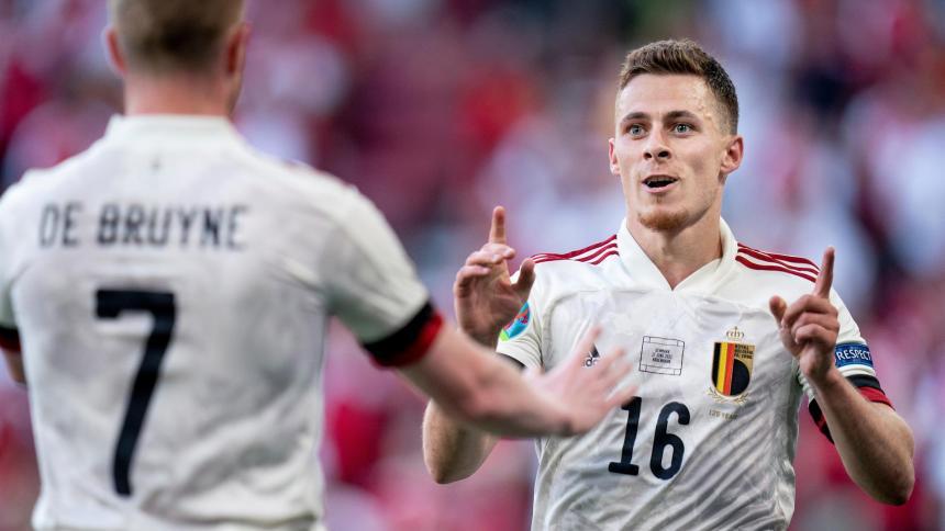 Thorgan Hazard se perderá el partido ante Finlandia, pero no la Eurocopa