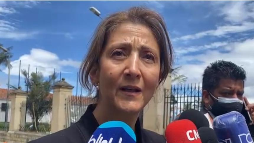 Ingrid Betancourt y ex-Farc en la Comisión de la Verdad
