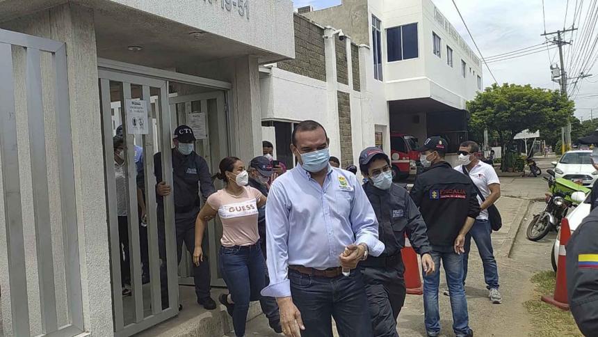 Capturan a 5 funcionarios de la Secretaría de Tránsito de Valledupar