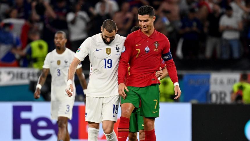 Francia y Portugal empatan en el cierre de la fase de grupos de la Eurocopa