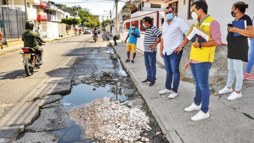 Cartagena adjudica interventoría de obras de malla vial