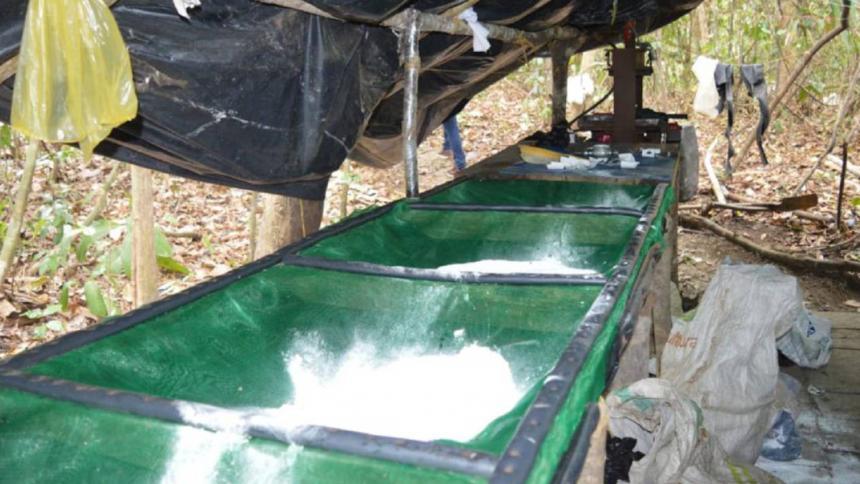 Destruyen laboratorios del Eln para procesar cocaína