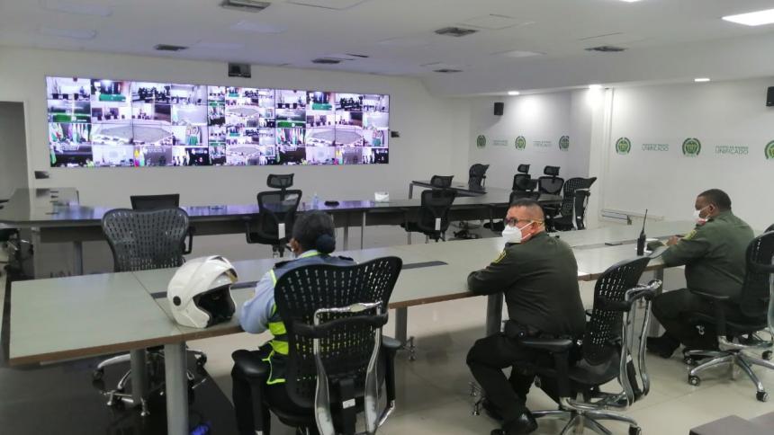 Policía captura a 20 personas el fin de semana en Cartagena