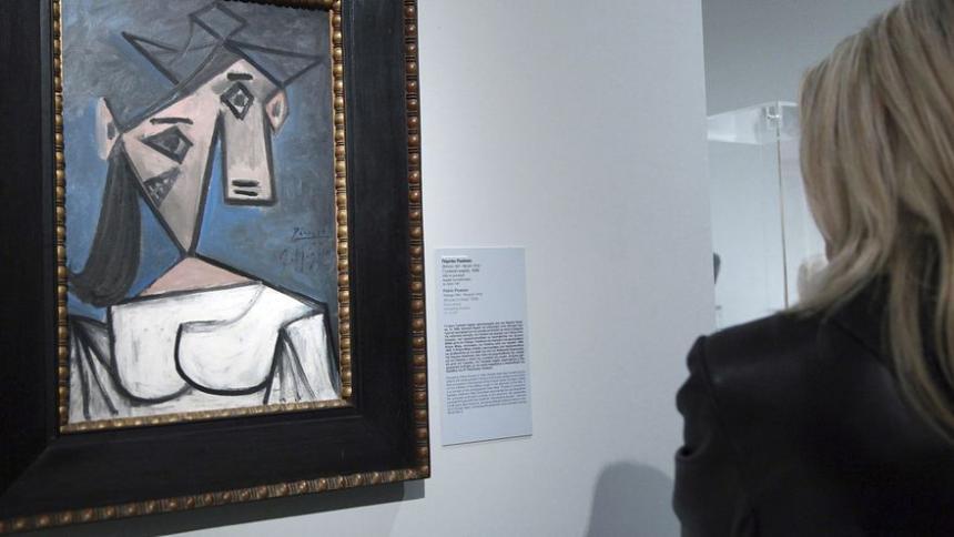 Robó cuadro de Picasso para disfrutar de él en su casa