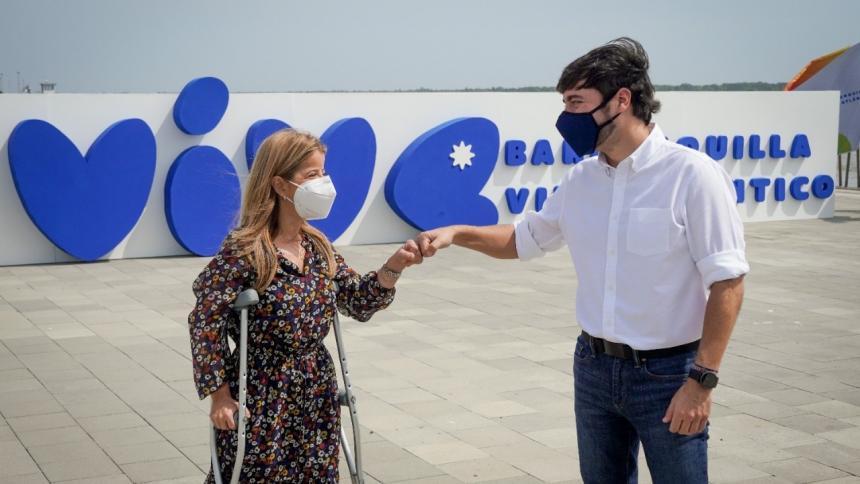 Alcalde Pumarejo y gobernadora Noguera continúan con la mayor favorabilidad en Colombia