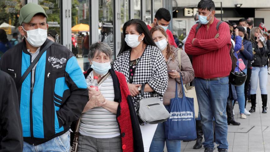 Colombia cierra su peor mes de pandemia con 17.000 muertes en junio