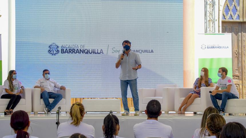 Distrito presentó oferta laboral para los jóvenes de Barranquilla