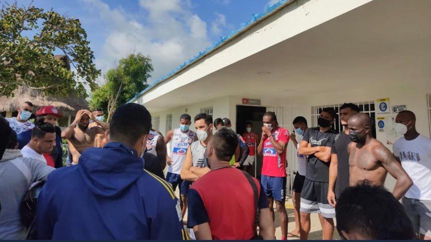 Algunos hinchas de Junior invadieron a la fuerza la sede deportiva