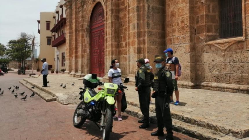 17 muertes y 1.126 casos positivos de covid-19 en Cartagena