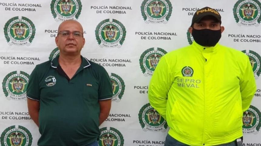 Se conoce video de alias Manolo cuando se entrega a autoridades en Antioquia, Colombia