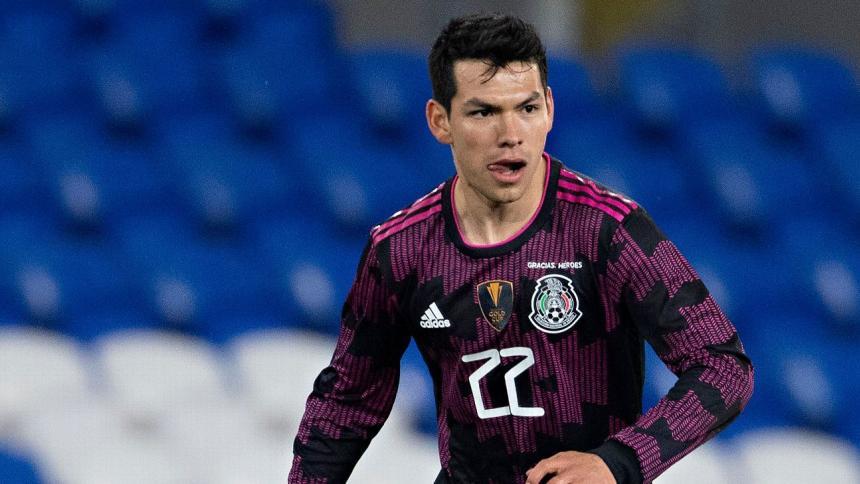 Hirving Lozano sufrió una fuerte lesión en la Copa Oro