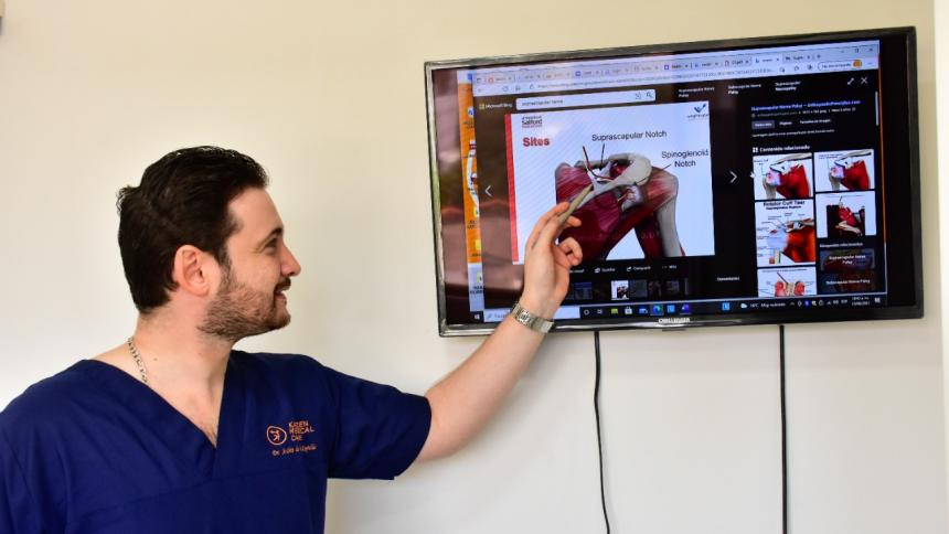 Tecnología le da la mano a Barranquilla en operación de hombro