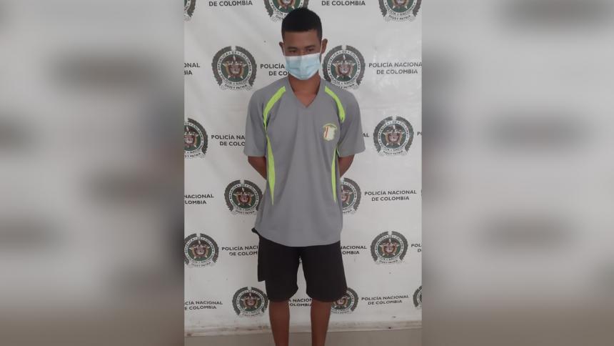Capturado hombre que agredió con machete a su madrastra en Magdalena