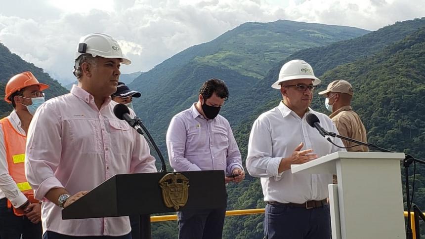 Primeras unidades de Hidroituango comenzarán a operar en 2022