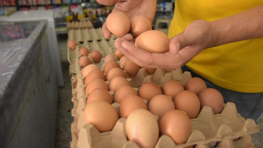 Por 'coletazo' de bloqueos huevos suben más del 21%