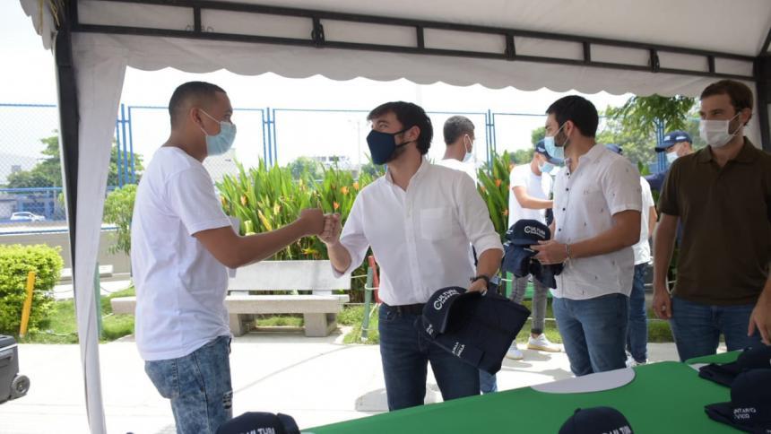Distrito selecciona a los primeros 25 jóvenes voluntarios para trabajo cívico