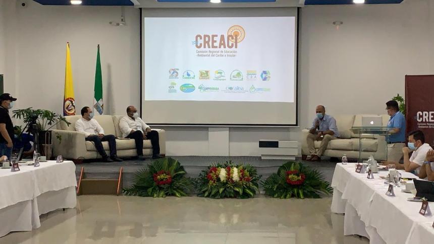 Corporaciones autónomas crean Comisión Regional de Educación Ambiental del Caribe e Insular