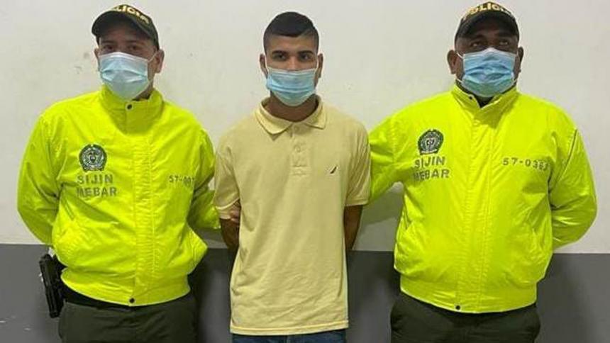 Capturan a 'Jossi' por un muerto y un herido en el barrio Chiquinquirá