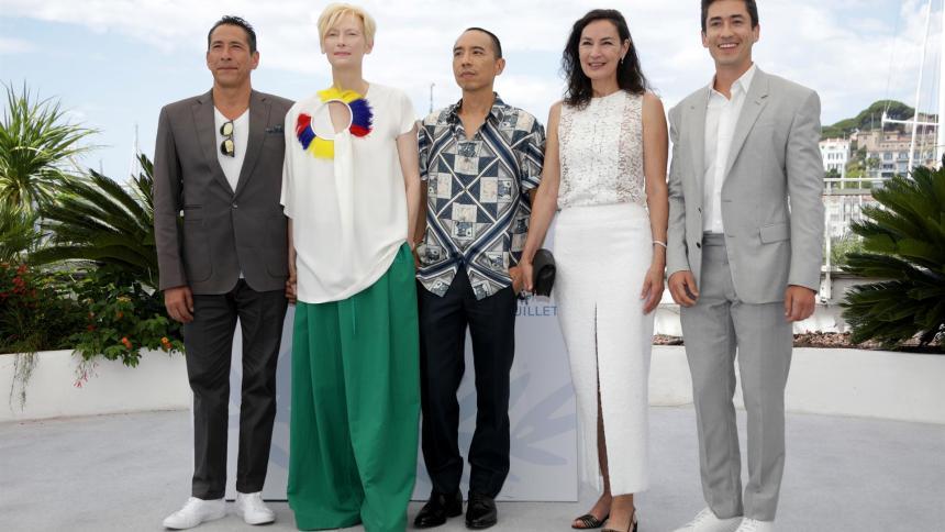 Película colombiana 'Memoria' se muestra como favorita en Cannes