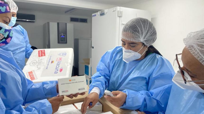 Barranquilla recibió 66.090 segundas dosis de vacuna contra la covid