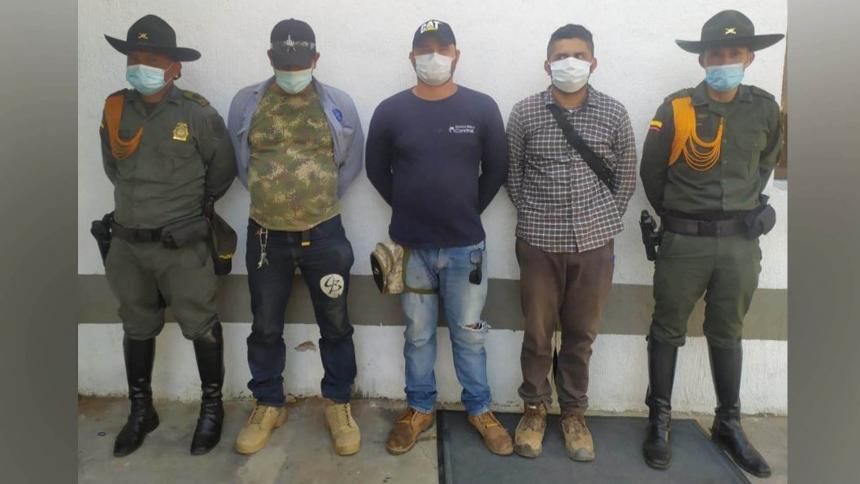 Lo capturaron en flagrancia por minería ilegal en Luruaco