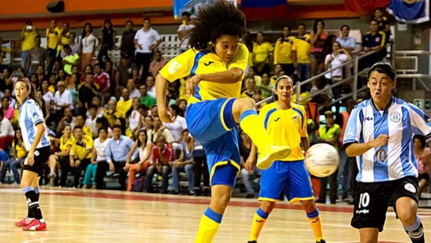 El Teldeportivo ficha a la internacional colombiana Shandira Wright
