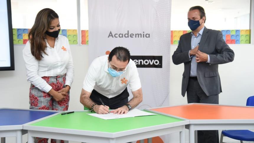 Academia Sena Lenovo beneficiará a más de 300 aprendices en Atlántico
