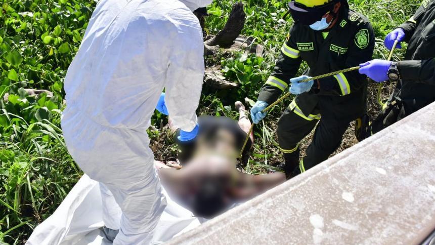 Barranquilla: Hallan cuerpo sin vida de hombre en Malecón del Río