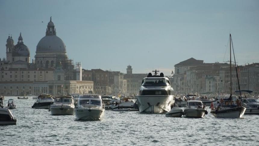 En Venecia vedan el ingreso de cruceros para evitar ser patrimonio en riesgo