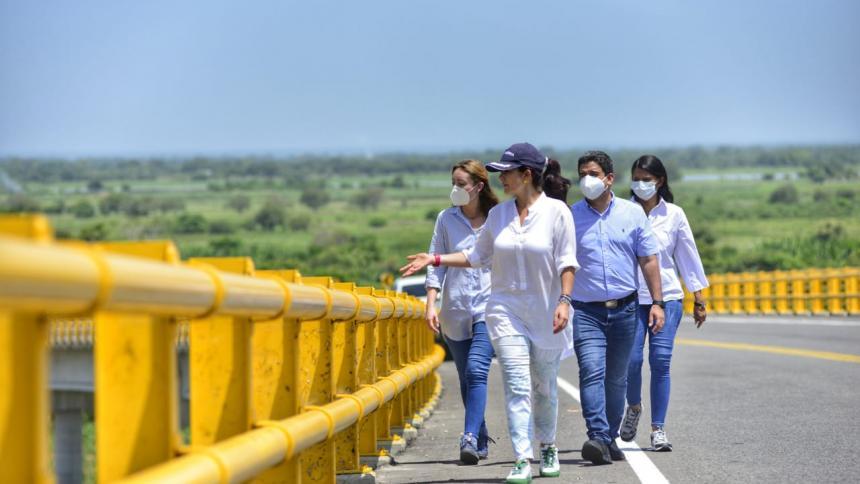 Fondo Adaptación hace seguimiento y visita técnica a obras en Bolívar