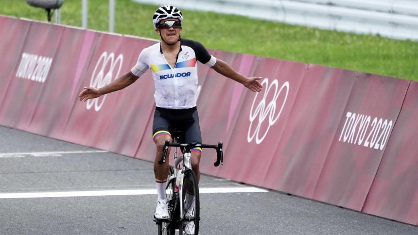 El ecuatoriano Richard Carapaz, campeón olímpico; Rigoberto Urán, octavo