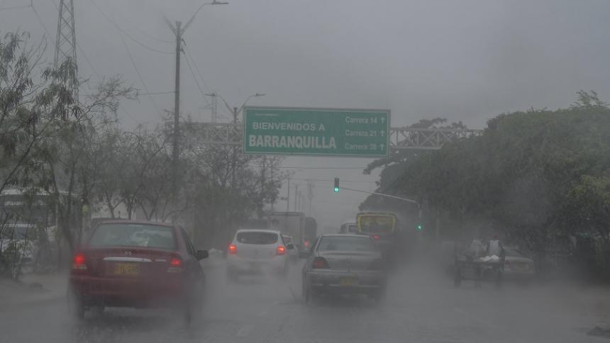 Fuertes lluvias continuarán en el Atlántico: Ideam