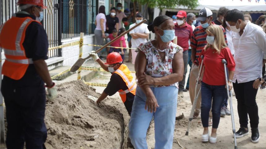 Inicia construcción de redes de acueducto en Malambo y Soledad