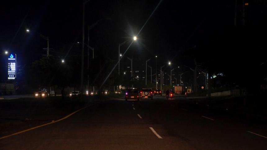 Robos de luminarias ascienden a los $600 millones