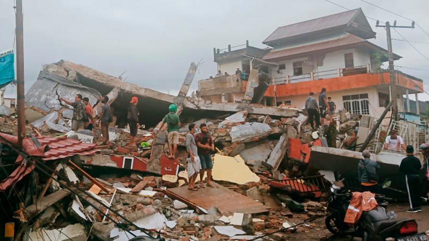 Terremoto de magnitud 6,2 sacude las islas Célebes, en Indonesia