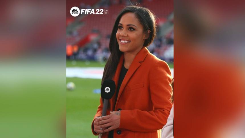 Primera mujer comentarista de FIFA