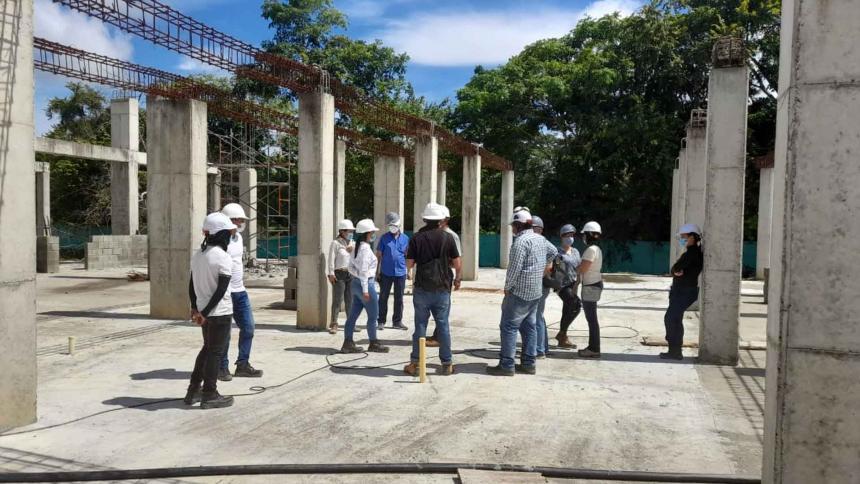 La construcción del Sena en la Mojana tiene un avance del 66%