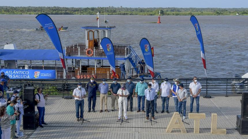 Gobernadores urgen acciones para la navegabilidad del Río