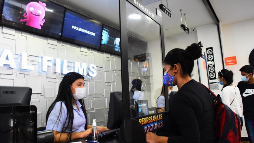 Ventas de los cines suman $45 mil millones: Redeban