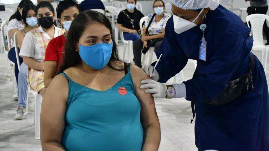 Este fin de semana, 'vacunatón' para embarazadas y menores de 12 a 17 años