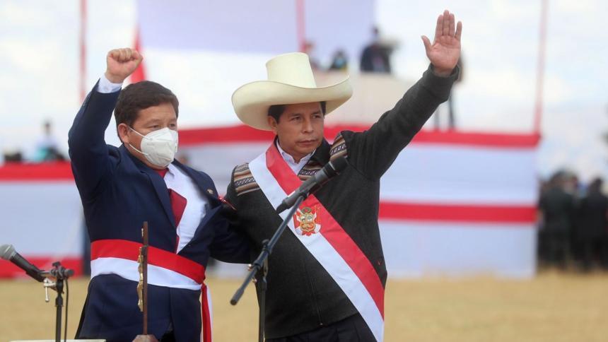 Primer ministro de Pedro Castillo es de línea dura