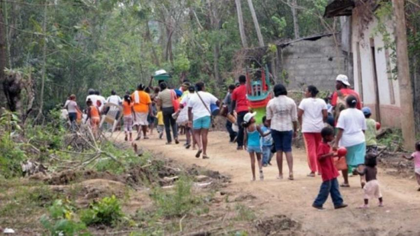 44 mil desplazados en Colombia en 2021: ONU