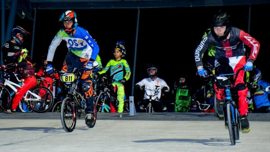 El bicicrós continúa en Barranquilla con el Torneo Nacional