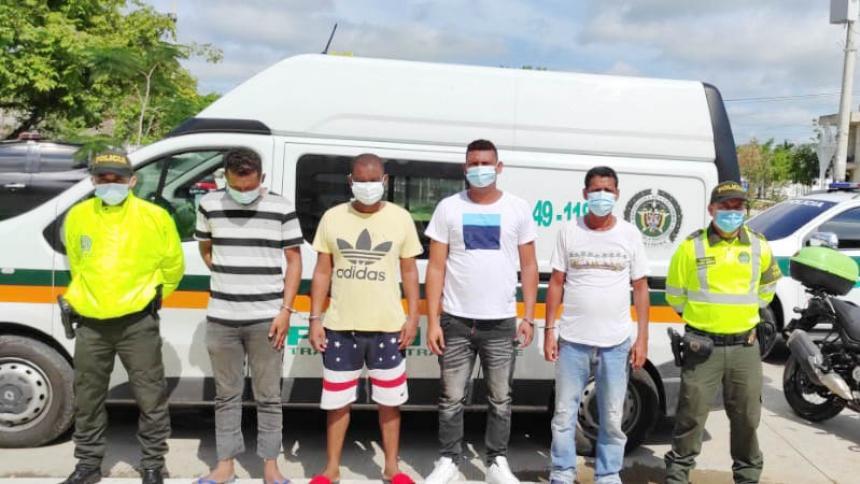 Desarticulan banda que hurtaba a pasajeros y conductores de buses interdepartamentales
