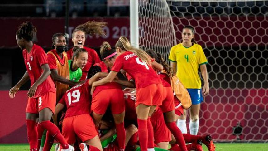 Canadá eliminó a Brasil de los Juegos Olímpicos de Tokio