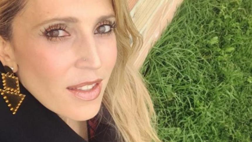 Reapareció Alejandra Azcárate después del lío de su esposo con avioneta cargada de droga